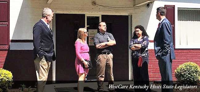 WestCare Kentucky Hosts State Legislators