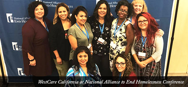 WestCare California at National Alliance to End Homelessness Conference