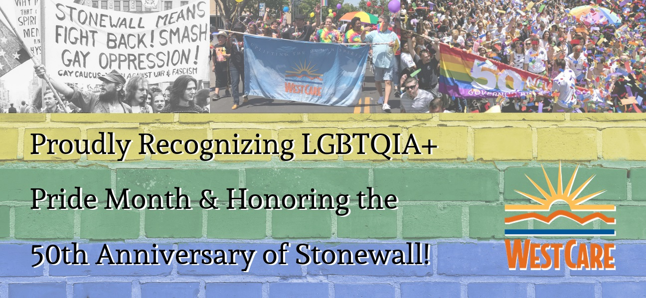 Celebrating LGBTQ+ Pride Month and honoring the 50th anniversary of Stonewall